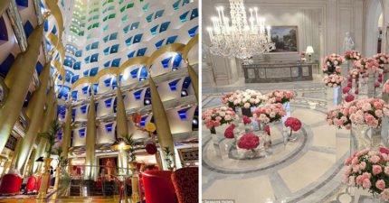 13間全世界超夢幻「奢華飯店大廳」 只要踏進去就完全不想退房了!