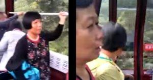 獨自坐纜車遇到阿嬤齊唱「阿彌陀佛」超崩潰 網笑翻:通往西天的纜車?
