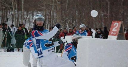 打雪仗也可以這麼專業?日本超熱血「雪球戰」狂到快加入奧運!