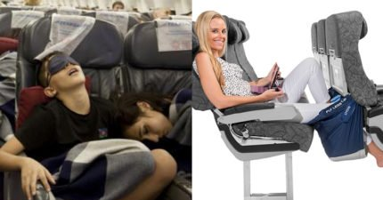 坐經濟艙也可以「升級商務艙體驗」!坐長途飛機不再腰痠背痛睡不著