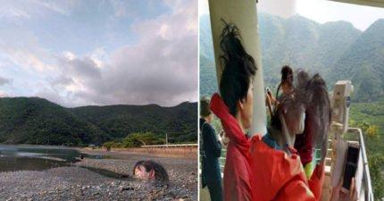 Google Map最驚恐!他搜尋日本知名地標 驚見沙灘上人頭橫躺...往下滑還有殘肢!