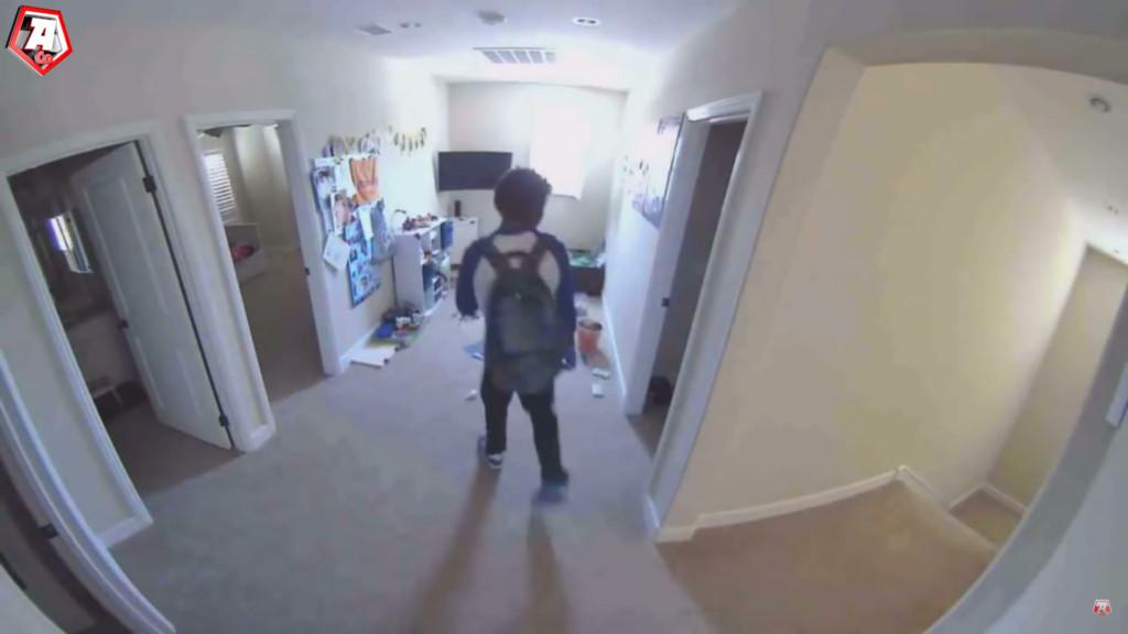 褓母聽見樓上怪聲救子 攝影機「超毛畫面」令人倒吸一口氣
