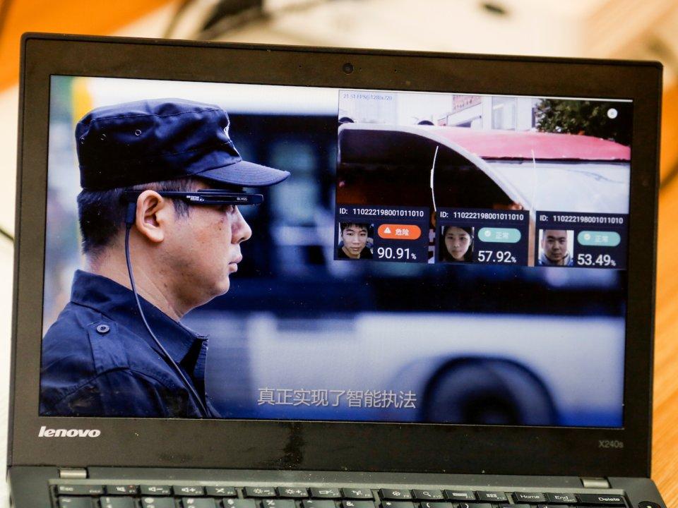 中國「社會信用系統」臉部掃描監控人民舉動 評分太低下場超慘!