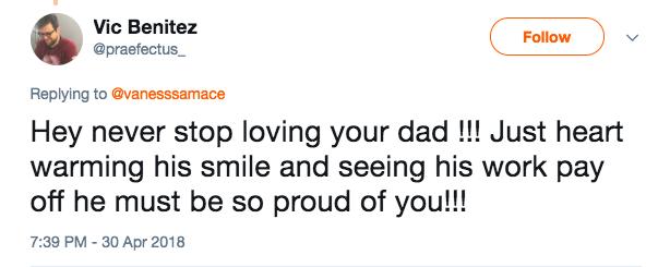 爸爸工作無法參加畢業舞會 女兒穿超美禮服突襲「爸爸臉一垮 」融化全網!