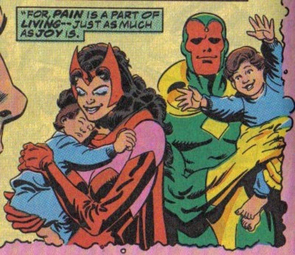 原來幻視和緋紅女巫已婚生子 「第三者」害他們家破人亡