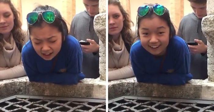 影/17歲少女對著古井唱「哈利路亞」 一開口會讓你以為天使下凡!