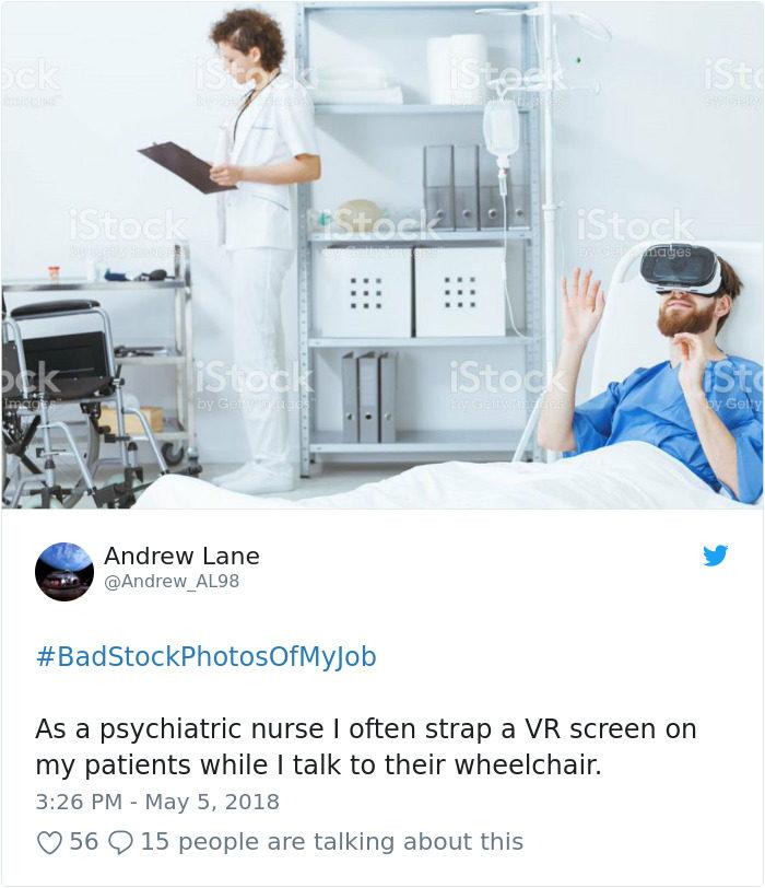 20張「怎麼這麼貼切」各職業圖庫 我有被護士這樣吹過