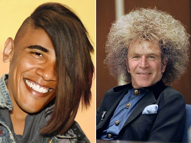 讓各國元首換新髮型!「潮爆風格」像是擁有第二人生(19張)