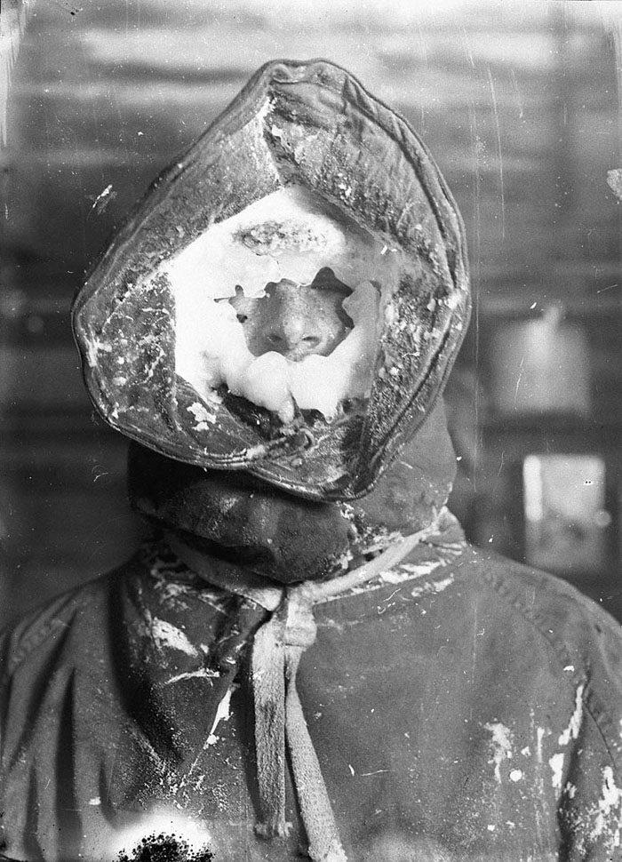 一百年前澳洲首支「南极敢死队」图集 逼近死亡才能见证的美 -5afd496a77546
