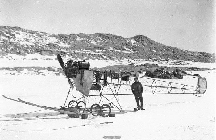 一百年前澳洲首支「南极敢死队」图集 逼近死亡才能见证的美 -5afd496e00a2c