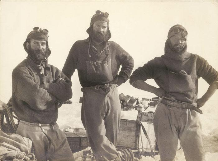 一百年前澳洲首支「南极敢死队」图集 逼近死亡才能见证的美 -5afd49702c7bf
