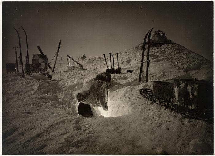 一百年前澳洲首支「南极敢死队」图集 逼近死亡才能见证的美 -5afd49721567f