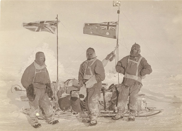 一百年前澳洲首支「南极敢死队」图集 逼近死亡才能见证的美 -5afd49729d361