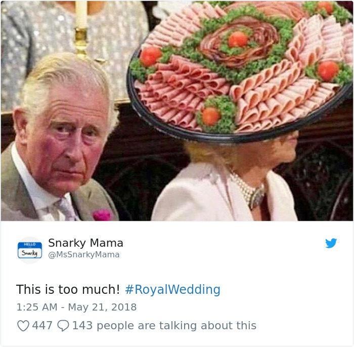 20張最爆笑「皇室婚禮梗圖」 這就是你不該請前女友來婚禮的原因!