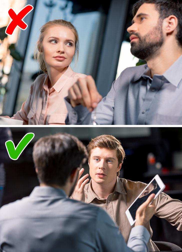 11個「會害你被同事討厭」的肢體語言 千萬不要把你的手藏起來!