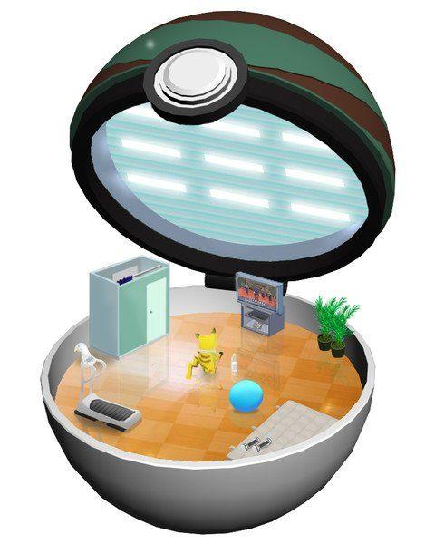 寶可夢被收服後?畫家畫出18張「寶貝球內部世界照」