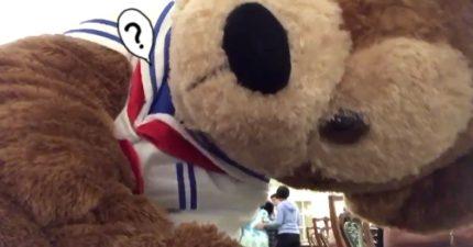 在東京迪士尼忘了關錄影 回來意外發現「驚喜」:達菲熊太調皮啦