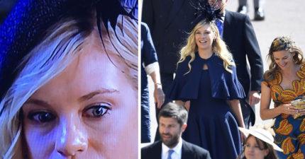 哈利王子大婚舊愛盛裝出席複雜表情全網爆紅 惹笑網友:後悔了嗎?