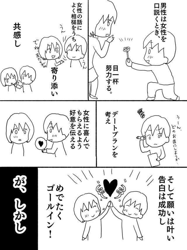 追到手就不珍惜?4張漫畫分析「男生交往前後大不同」 女網友淚:中肯