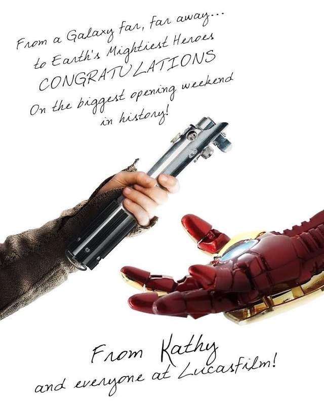 星際大戰交棒給復仇者英雄!影界「39年致敬傳統」讓全網感動噴淚