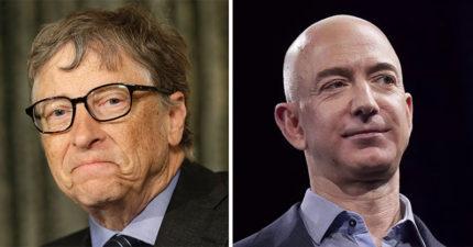 世界首富換人當!他財產整整多了1兆台幣 擠下比爾蓋茲