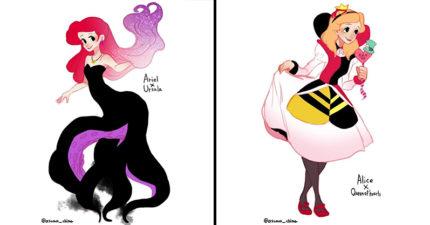 14個迪士尼公主「反串經典反派角色」 茉莉公主妖豔指數倍增!