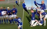 世足/冰島球員進球「慶祝動作」超可愛 釣魚、騎腳踏車...世界球迷都被圈粉!