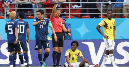 哥倫比亞慘輸日本 球迷引誘日本妹「講下流話」影片讓哥國外交部狂道歉