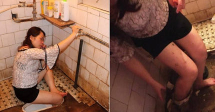 尺寸剛好...大媽喝太醉廁所滑倒 警消到場傻眼:變馬桶灰姑娘了!