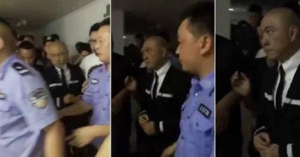 張衛健「吸違禁品被捕」神色嚴肅 影片瘋傳引本人回應!