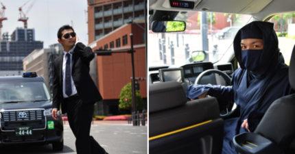 日本推出忍者、保鑣計程車 「回味歷史VS明星光環」任你挑選♡