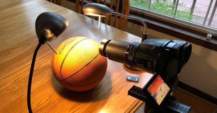 地球是平的?國外工程師用一顆籃球打臉支持者