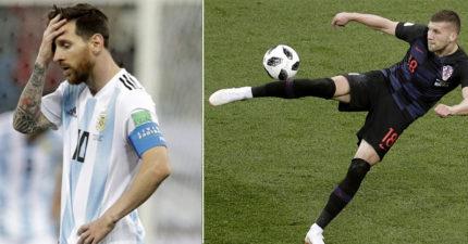 世足/阿根廷3:0慘敗克羅埃西亞 梅西眼淚全在眼眶「觸球49次」啊!