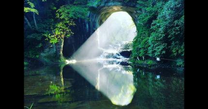 日本最像宮崎駿世界的秘境!時間對了就會出現「♥型光芒」