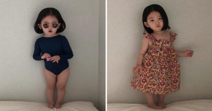 10年養成計畫!南韓2歲小網美穿搭超時尚 衣服買不到「製作過程都是愛」