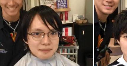 擺脫魯蛇人生!髮型師讓你看見「宅宅和型男」之間只有髮型的差別