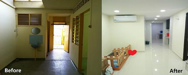 大馬妹2年「鬼屋裝修成超豪宅」 裝修費卻意外只有6個0啊!