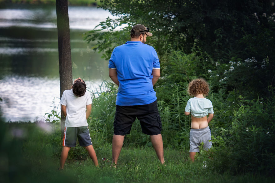 25張「充滿無私父愛」親子照 媽媽安心讓爸爸帶小孩吧~