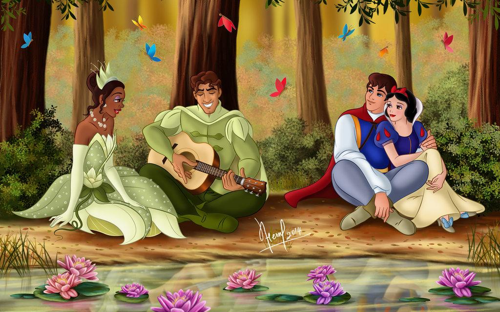 迪士尼公主私下根本好姊妹!16張讓人超想亂入的公主睡衣趴❤