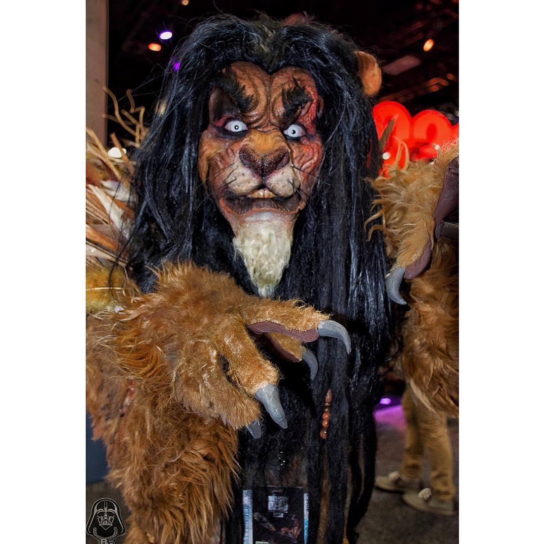 特殊化妝師輕鬆變「迪士尼反派角色」 101忠狗庫伊拉零違和