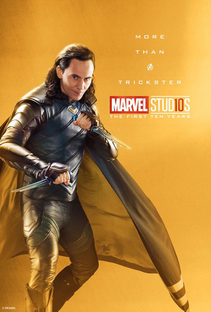 漫威公開10周年海報「32位英雄金光閃閃」 網卻愈看愈不對勁...索爾怎麼不拿槌子了?!