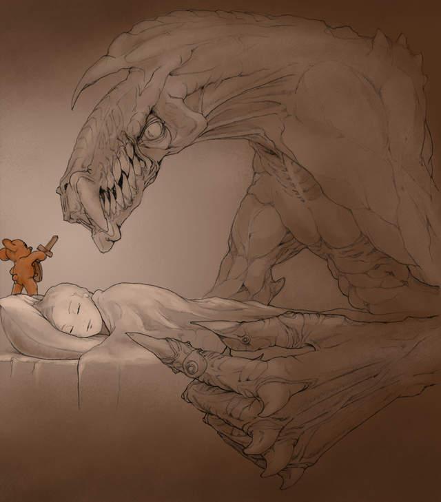 抱娃睡覺沒有錯!床邊娃娃其實是「守護天使」:夜裡默默守護著你