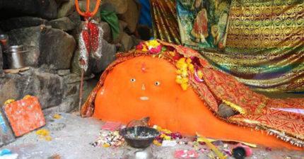 網瘋傳超萌印度神!「橘色身體+2顆小眼睛」看著看著...肚子餓了啊