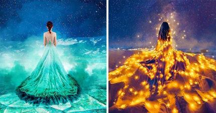 攝影師「旅遊+時尚」拍環遊世界美照 把星星穿在身上!