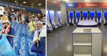 世足/日本隊休息室「乾淨到像平行時空」 她拍照PO網下秒被FIFA解雇