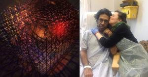 他心臟病發斷氣7分鐘 重回人間畫出「死亡空間」窒息感令人戰慄