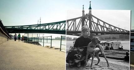 攝影師把「20世紀舊照融入現代照」 開啟一扇回到過去的窗 (30+張)