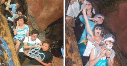 迪士尼官方釋出「飛濺山最狂紀念照」 層層疊、玩撲克牌沒難度!