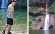 影/瀑布前拍MV「意外拍到男跳水」 再也沒浮出水面...