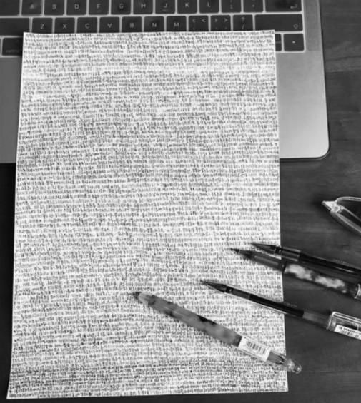 學生期末熬夜3天做萬字小抄 鈴聲響後發現「完全找不到答案」